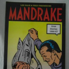 Cómics: MANDRAKE TIRAS DIARIAS 1966/67. TOMO 49. LEE FALK & PHIL DAVES. PERFECTO ESTADO. Lote 153347630