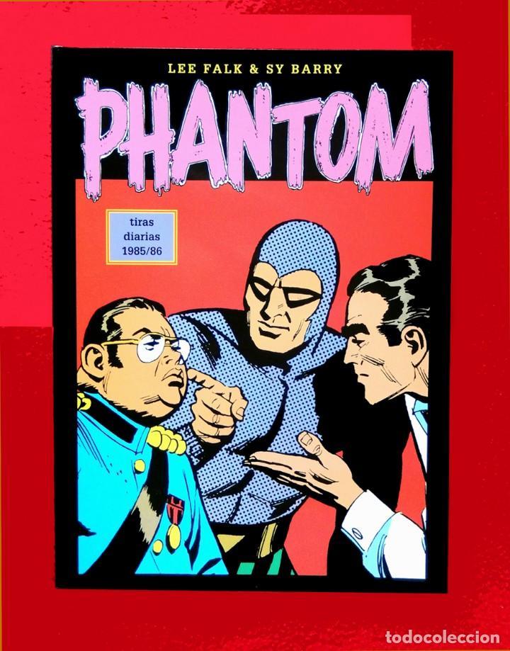 PHANTOM - EL HOMBRE ENMASCARADO TOMO XLIII (Nº 43)-TIRAS DIARIAS 1985/86 - EDIT. MAGERIT-CON REGALO (Tebeos y Comics - Magerit - Phantom)