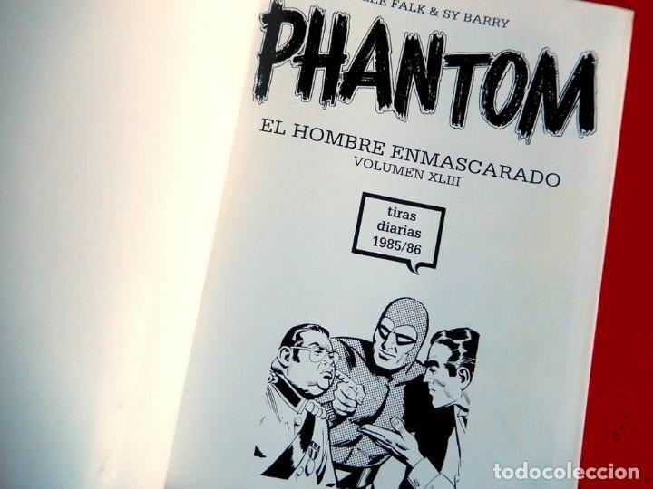 Cómics: PHANTOM - EL HOMBRE ENMASCARADO TOMO XLIII (Nº 43)-TIRAS DIARIAS 1985/86 - EDIT. MAGERIT-CON REGALO - Foto 3 - 153399290