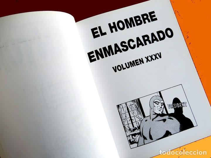 Cómics: PHANTOM - EL HOMBRE ENMASCARADO TOMO XXXV (Nº 35)-TIRAS DIARIAS 1988 / 89 - EDIT. MAGERIT - NUEVO - Foto 3 - 153400934