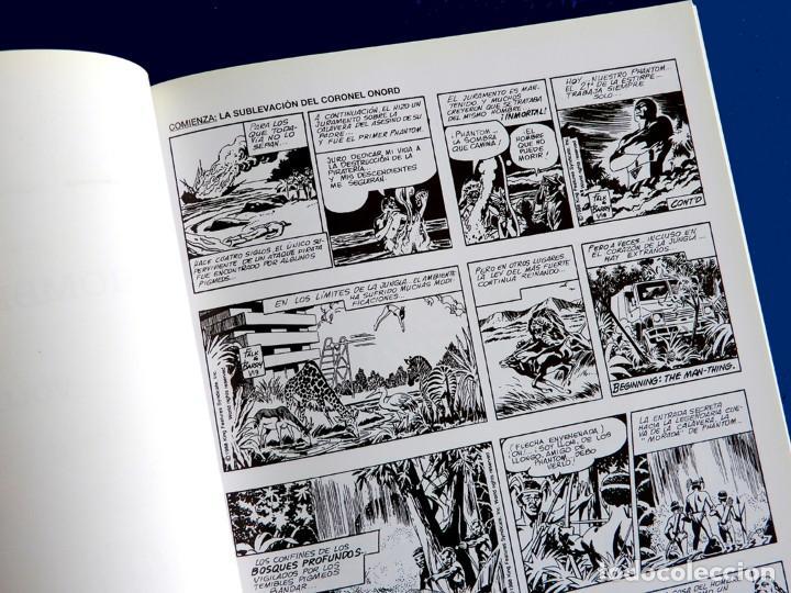 Cómics: PHANTOM - EL HOMBRE ENMASCARADO TOMO XXXV (Nº 35)-TIRAS DIARIAS 1988 / 89 - EDIT. MAGERIT - NUEVO - Foto 4 - 153400934