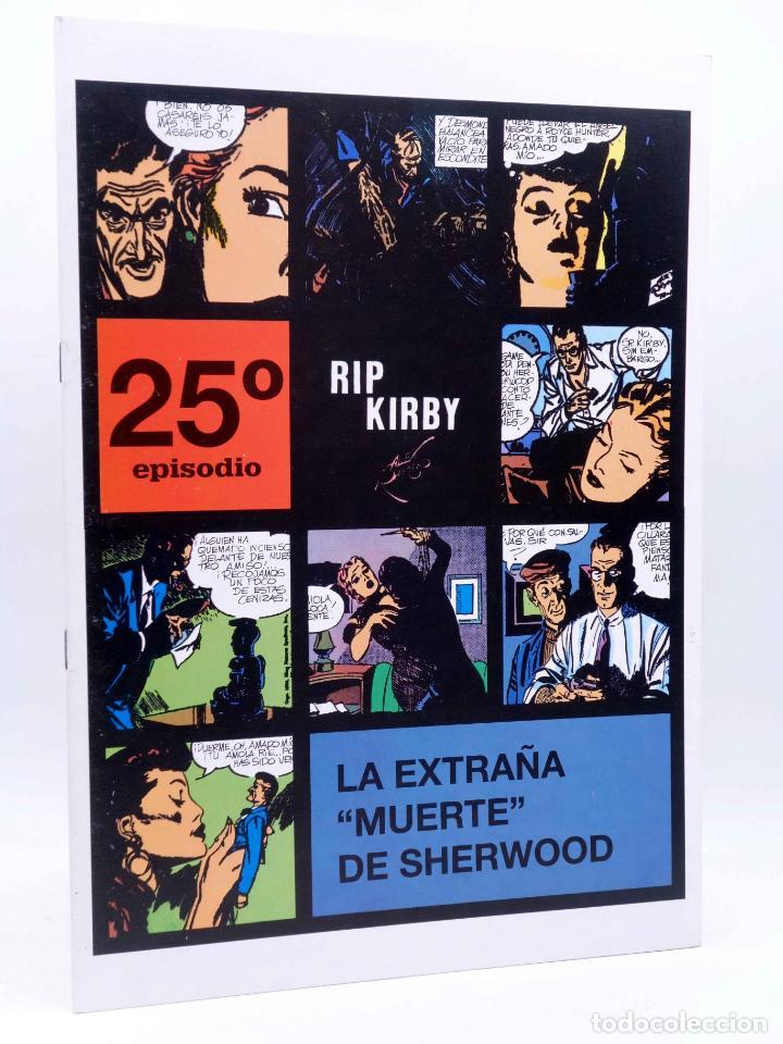 RIP KIRBY EPISODIO 25. LA EXTRAÑA MUERTE DE SHERWOOD (ALEX RAYMOND) MAGERIT, 1997 (Tebeos y Comics - Magerit - Rip Kirby)
