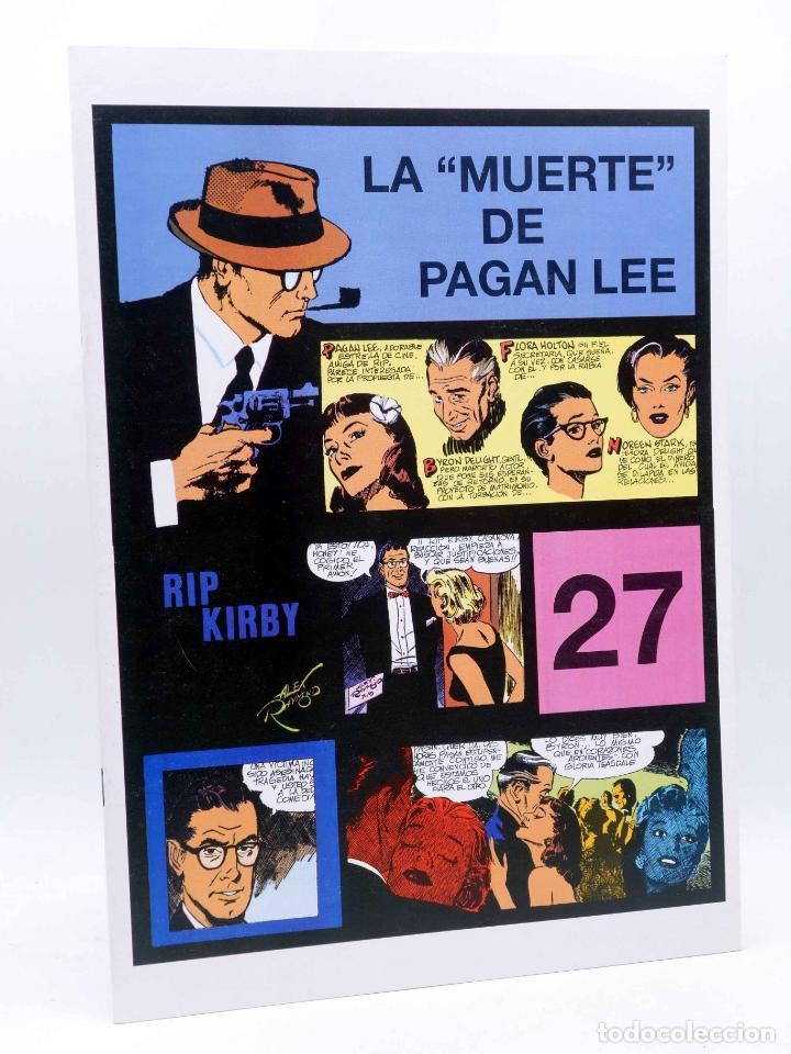 RIP KIRBY EPISODIO 27. LA MUERTE DE PAGAN LEE (ALEX RAYMOND) MAGERIT, 1997 (Tebeos y Comics - Magerit - Rip Kirby)
