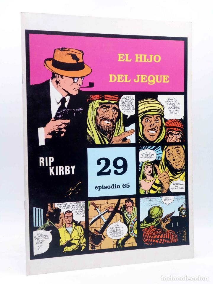 RIP KIRBY 29 EPISODIO 65. EL HIJO DEL JEQUE (ALEX RAYMOND / DICKENSON / PRENTICE) MAGERIT, 1997 (Tebeos y Comics - Magerit - Rip Kirby)