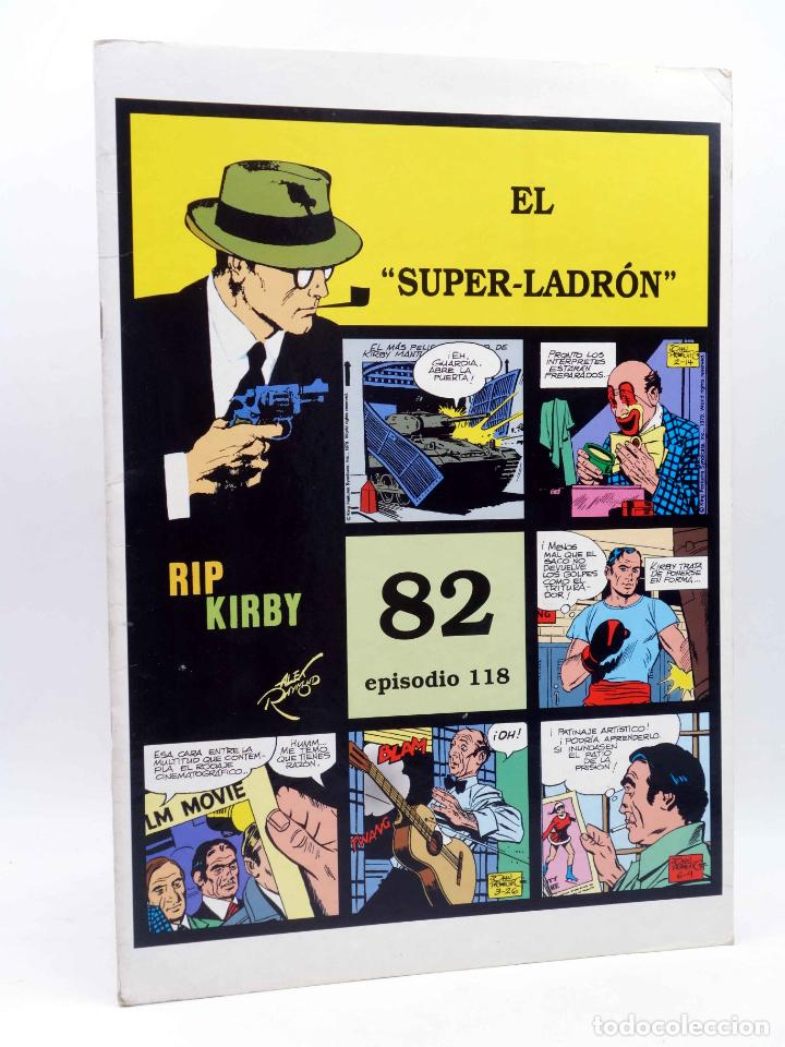 RIP KIRBY 82 EPISODIO 118. EL SUPER LADRÓN (ALEX RAYMOND / DICKENSON / PRENTICE) MAGERIT, 1997 (Tebeos y Comics - Magerit - Rip Kirby)