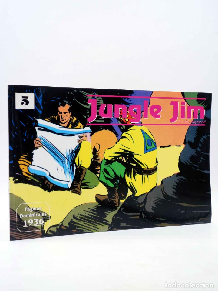 JUNGLE JIM 5. PÁGINAS DOMINICALES 1936 (ALEX RAYMOND) MAGERIT, 1998 (Tebeos y Comics - Magerit - Jungle Jim)