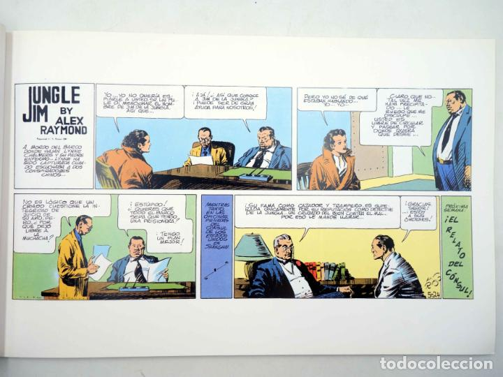 Cómics: JUNGLE JIM 5. PÁGINAS DOMINICALES 1936 (Alex Raymond) Magerit, 1998 - Foto 3 - 158274398