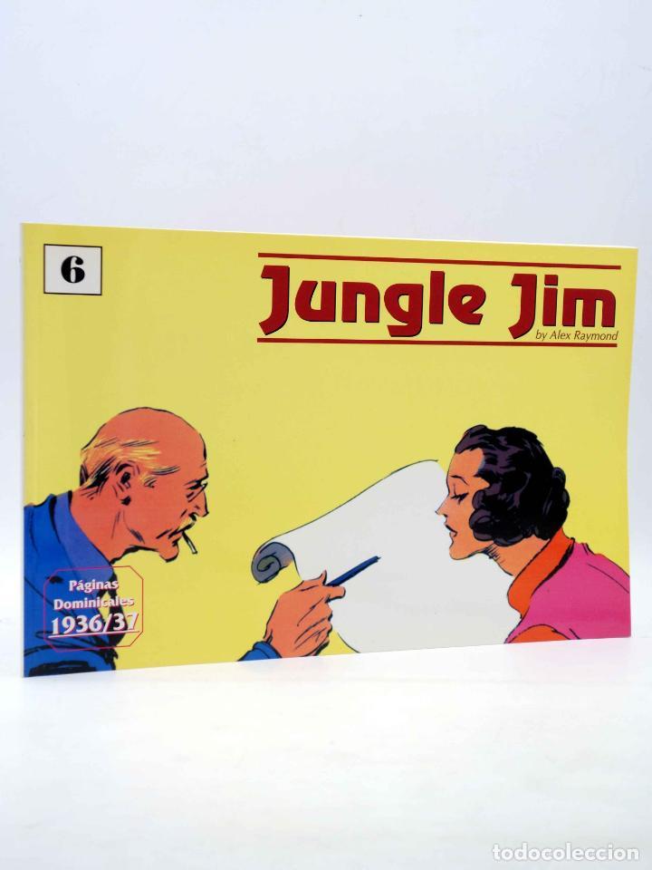 JUNGLE JIM 6. PÁGINAS DOMINICALES 1936/37 (ALEX RAYMOND) MAGERIT, 1998 (Tebeos y Comics - Magerit - Jungle Jim)