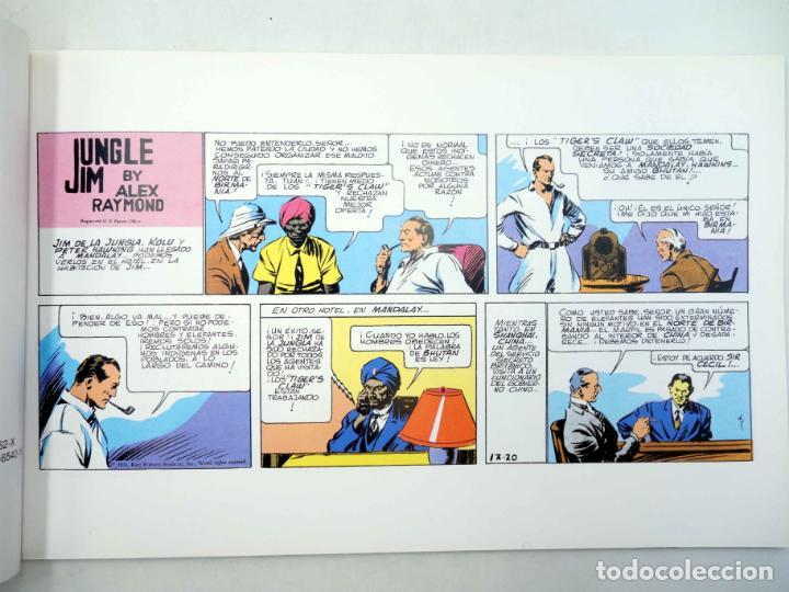 Cómics: JUNGLE JIM 6. PÁGINAS DOMINICALES 1936/37 (Alex Raymond) Magerit, 1998 - Foto 3 - 158274402