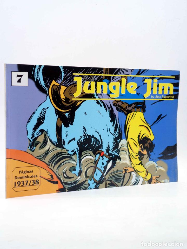 JUNGLE JIM 7. PÁGINAS DOMINICALES 1937/38 (ALEX RAYMOND) MAGERIT, 1998 (Tebeos y Comics - Magerit - Jungle Jim)