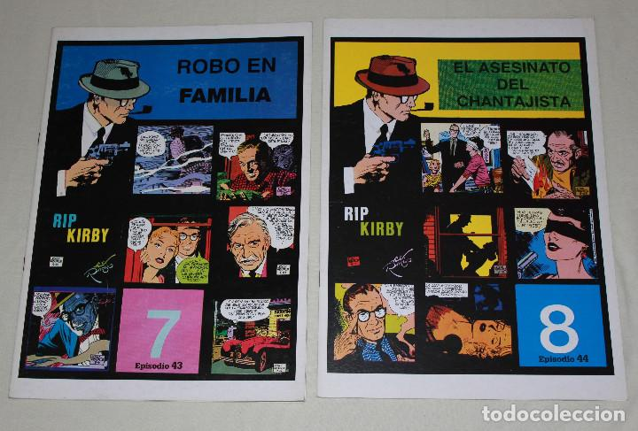 RIP KIRBY 2 GRAPAS - Nº 7 & 8 (EPISODIOS 43 & 44) - 34X24 CM (Tebeos y Comics - Magerit - Rip Kirby)