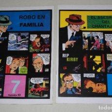 Cómics: RIP KIRBY 2 GRAPAS - Nº 7 & 8 (EPISODIOS 43 & 44) - 34X24 CM. Lote 171190720