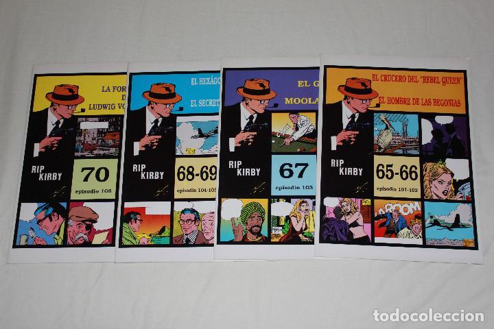 RIP KIRBY 4 GRAPAS - Nº 65 AL 70 (EPISODIOS 101 AL 106) - 34X24 CM (Tebeos y Comics - Magerit - Rip Kirby)
