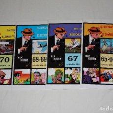 Cómics: RIP KIRBY 4 GRAPAS - Nº 65 AL 70 (EPISODIOS 101 AL 106) - 34X24 CM. Lote 199236373
