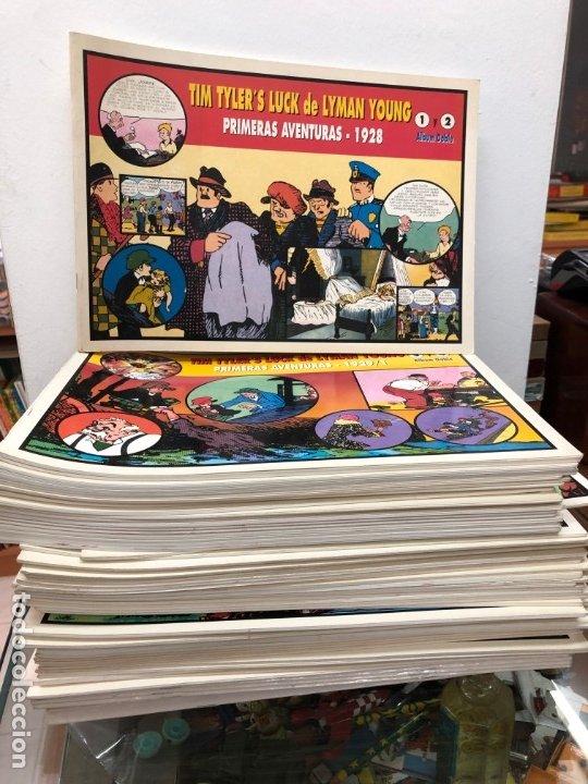 COLECCION MUY AVANZANDA SOLO FALTAN 9 PARA COMPLETARLA JORGE Y FERNANDO TIM TYLER'S TIRAS DIARIAS (Tebeos y Comics - Magerit - Jorge y Fernando)