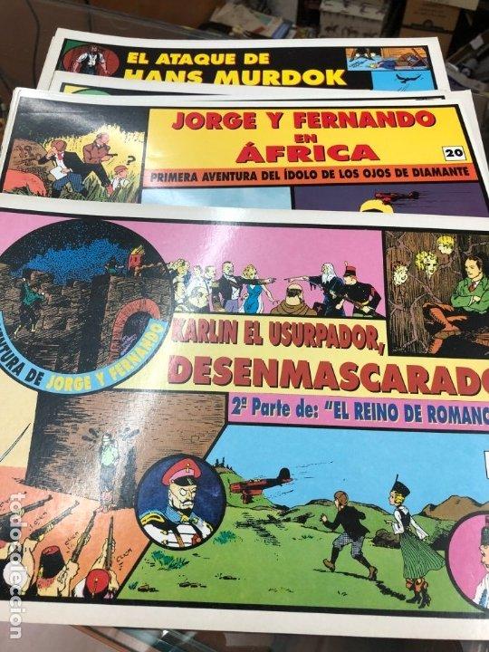 Cómics: COLECCION MUY AVANZANDA SOLO FALTAN 9 PARA COMPLETARLA JORGE Y FERNANDO TIM TYLERS TIRAS DIARIAS - Foto 5 - 172617429