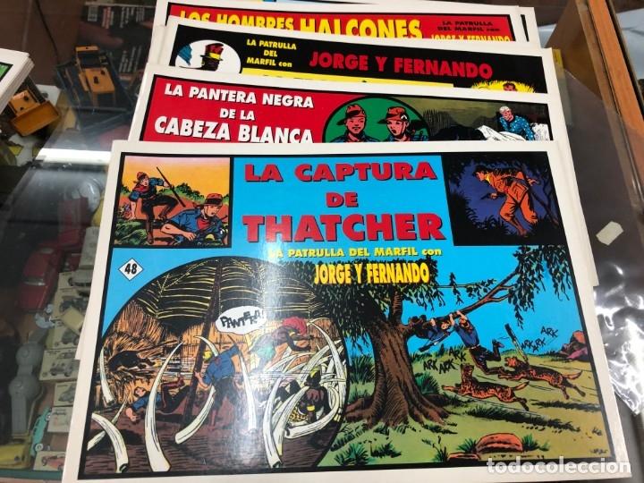 Cómics: COLECCION MUY AVANZANDA SOLO FALTAN 9 PARA COMPLETARLA JORGE Y FERNANDO TIM TYLERS TIRAS DIARIAS - Foto 6 - 172617429