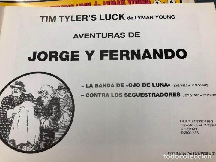 Cómics: COLECCION MUY AVANZANDA SOLO FALTAN 9 PARA COMPLETARLA JORGE Y FERNANDO TIM TYLERS TIRAS DIARIAS - Foto 9 - 172617429