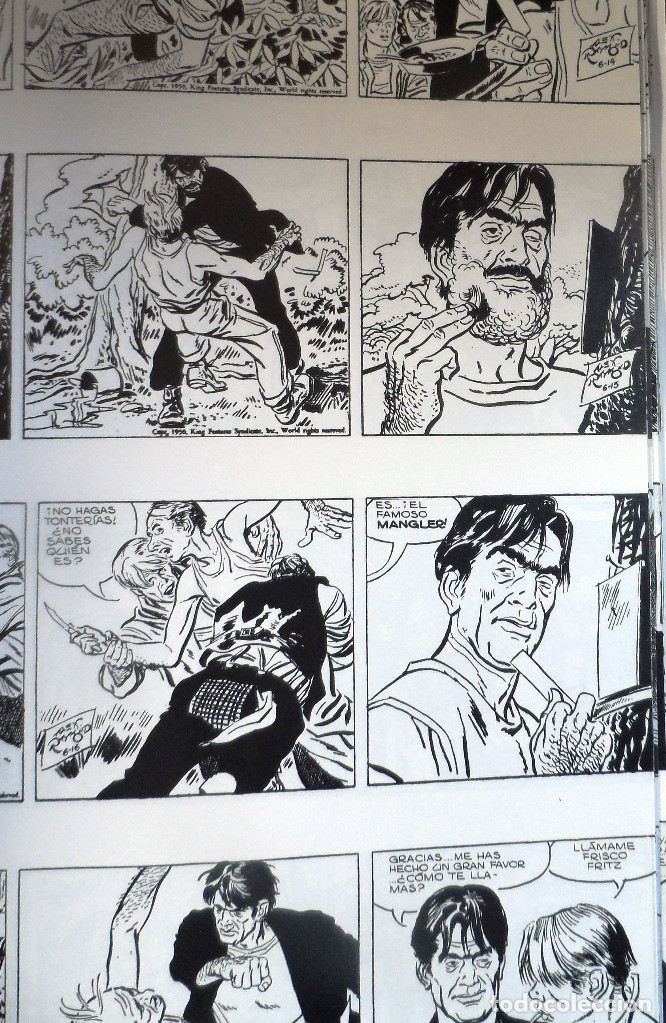 Cómics: Rip Kirby. Editorial Magerit. Números 1 a 114 (150 episodios). Números 1 - 70 encuadernados. - Foto 3 - 172937253