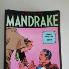 Cómics: MANDRAKE TIRAS DIARIAS 1961 MAGERIT. Lote 173048622