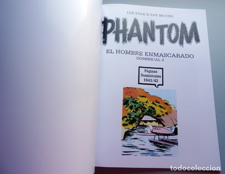 Cómics: PHANTOM EL HOMBRE ENMASCARADO DOMINICAL Nº 3 - Foto 2 - 175267774