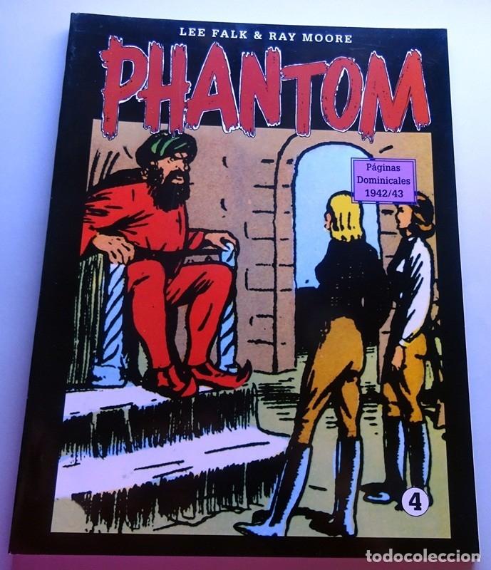 PHANTOM EL HOMBRE ENMASCARADO DOMINICAL Nº 4 (Tebeos y Comics - Magerit - Phantom)