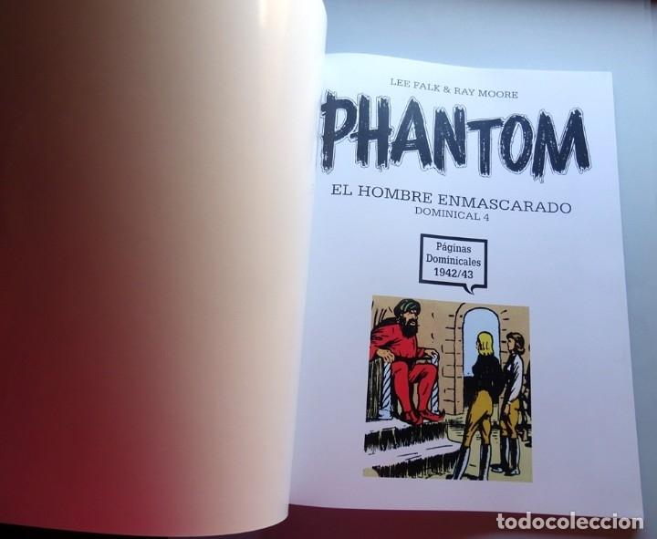 Cómics: PHANTOM EL HOMBRE ENMASCARADO DOMINICAL Nº 4 - Foto 2 - 175267907