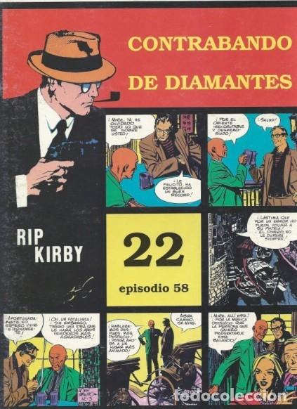 RIP KIRBY Nº 58 (JOHN PRENTICE) EDIT. MAGERIT - MUY BUEN ESTADO - OFM15 (Tebeos y Comics - Magerit - Rip Kirby)