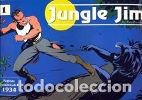 JUNGLE JIM PAGINAS DOMINICALES Nº 1 1934 (ALEX RAYMOND) EDIT. MAGERIT - MUY BUEN ESTADO - OFM15 (Tebeos y Comics - Magerit - Rip Kirby)