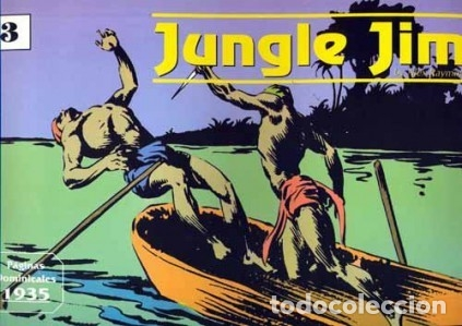 JUNGLE JIM PAGINAS DOMINICALES Nº 3 1935 (ALEX RAYMOND) EDIT. MAGERIT - MUY BUEN ESTADO - OFM15 (Tebeos y Comics - Magerit - Rip Kirby)