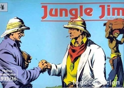 JUNGLE JIM PAGINAS DOMINICALES Nº 4 1935 / 36 (ALEX RAYMOND) EDIT MAGERIT - MUY BUEN ESTADO - OFM15 (Tebeos y Comics - Magerit - Rip Kirby)