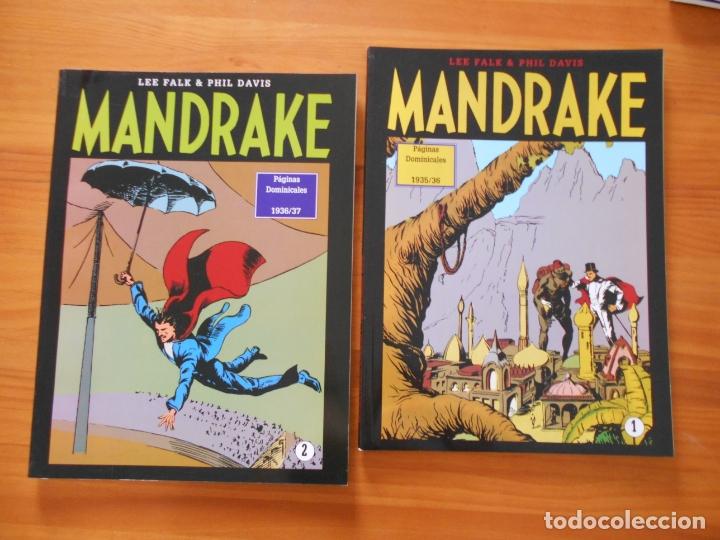 Cómics: MANDRAKE PAGINAS DOMINICALES COMPLETA - 5 TOMOS - LEE FALK & PHIL DAVIS - MAGERIT (CC) - Foto 2 - 176239997