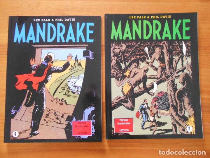 Cómics: MANDRAKE PAGINAS DOMINICALES COMPLETA - 5 TOMOS - LEE FALK & PHIL DAVIS - MAGERIT (CC) - Foto 3 - 176239997
