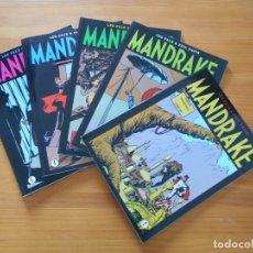 Cómics: MANDRAKE PAGINAS DOMINICALES COMPLETA - 5 TOMOS - LEE FALK & PHIL DAVIS - MAGERIT (CC). Lote 176239997