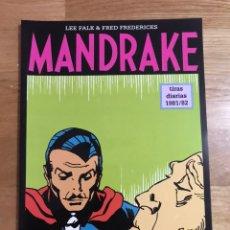 Cómics: MANDRAKE LEE FALK & FREDERICKS TIRAS DIARIAS 1981/82. Lote 178627771
