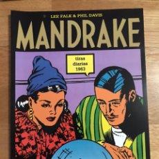 Cómics: MANDRAKE LEE FALK & PHIL DAVIS TIRAS DIARIAS 1963. Lote 178627843