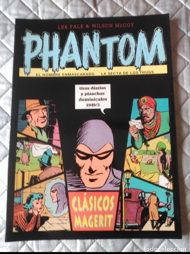 EL HOMBRE ENMASCARADO PHANTOM TIRAS DIARIAS Y PLANCHAS DOMINICALES 1949/3 (Tebeos y Comics - Magerit - Phantom)