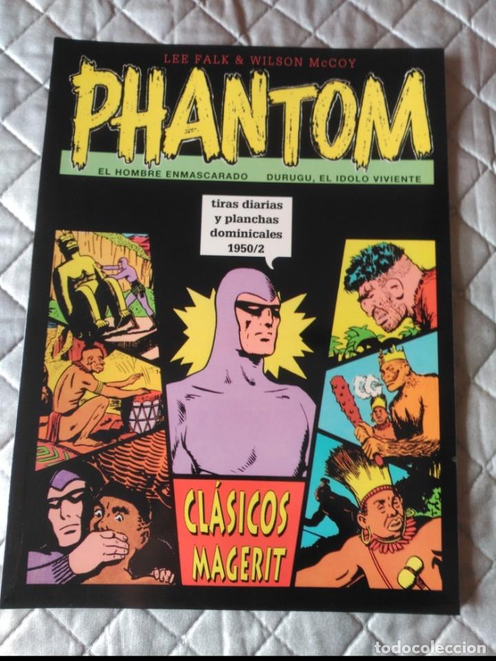 EL HOMBRE ENMASCARADO PHANTOM TIRAS DIARIAS Y PLANCHAS DOMINICALES 1950/2 (Tebeos y Comics - Magerit - Phantom)
