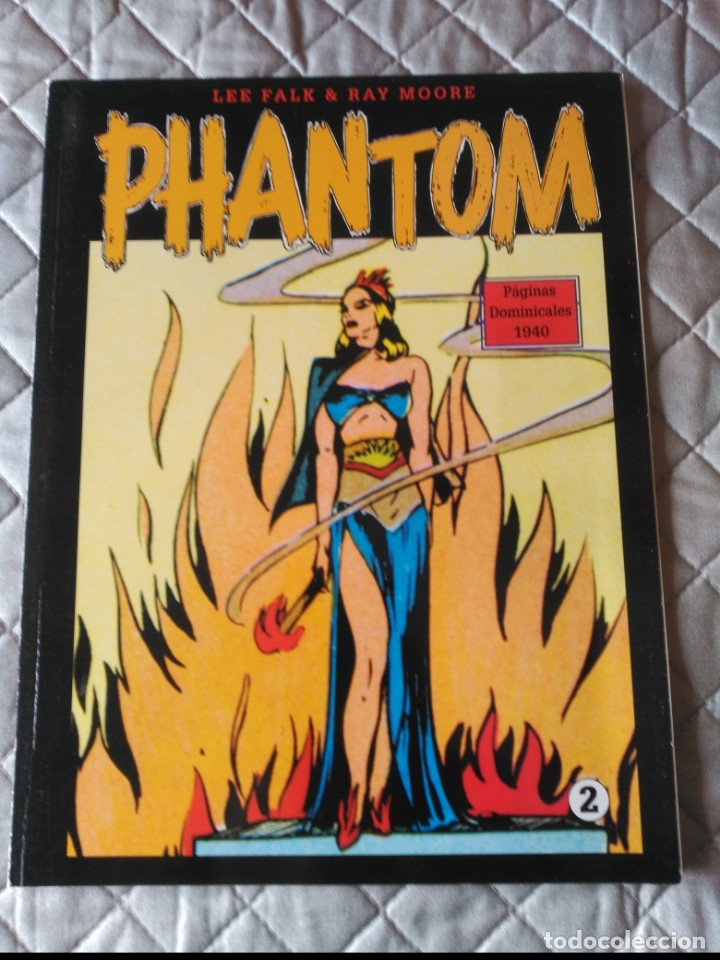 EL HOMBRE ENMASCARADO PHANTOM TOMO Nº 2 PAGINAS DOMINICALES 1939/40 MAGERIT EN COLOR (Tebeos y Comics - Magerit - Phantom)