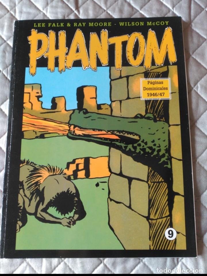EL HOMBRE ENMASCARADO PHANTOM HOMBRE ENMASCARADO TOMO Nº 9 PAGINAS DOMINICALES 1939/40 MAGERIT COLOR (Tebeos y Comics - Magerit - Phantom)