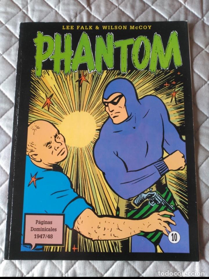 EL HOMBRE ENMASCARADO PHANTOM TOMO Nº 10 PAGINAS DOMINICALES 1939/40 MAGERIT EN COLOR (Tebeos y Comics - Magerit - Phantom)
