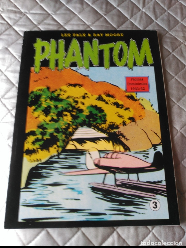 EL HOMBRE ENMASCARADO PHANTOM TOMO Nº 3 PAGINAS DOMINICALES 1939/40 MAGERIT EN COLOR (Tebeos y Comics - Magerit - Phantom)