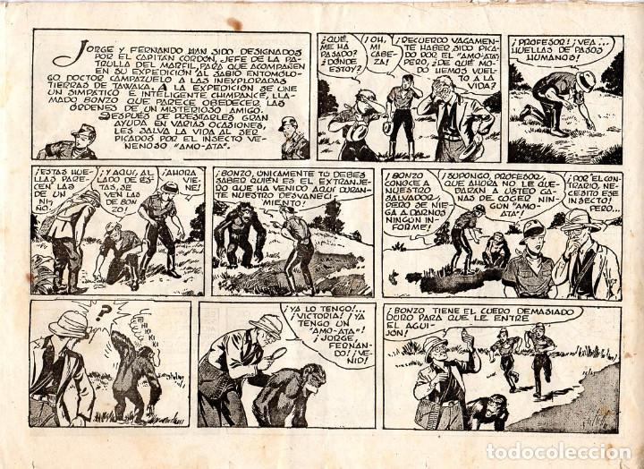 Cómics: JORGE Y FERNANDO EN EL TERRITORIO DE TAWAKA ¡¡¡ COMIC ORIGINAL DE LA ÉPOCA AÑOS 40 !!! - Foto 2 - 183588591