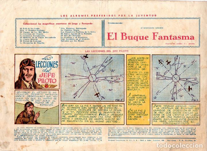 Cómics: JORGE Y FERNANDO EN EL TERRITORIO DE TAWAKA ¡¡¡ COMIC ORIGINAL DE LA ÉPOCA AÑOS 40 !!! - Foto 3 - 183588591