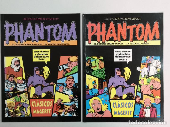 PHANTOM TIRAS DIARIAS E. MAGERIT N°1 Y 2 (Tebeos y Comics - Magerit - Mandrake)