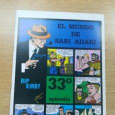 Cómics: RIP KIRBY (MAGERIT) #33. Lote 192183635