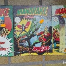 Cómics: MANDRAKE. MERLÍN EL MAGO. COMICS Nº 2-3-4. Lote 195634005