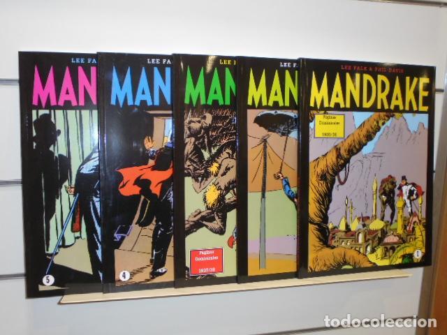 MANDRAKE DOMINICALES COMPLETA 5 NÚM. TODO COLOR OFERTA EDIT. MAGERIT (Tebeos y Comics - Magerit - Mandrake)