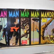 Cómics: MANDRAKE DOMINICALES COMPLETA 5 NÚM. TODO COLOR OFERTA EDIT. MAGERIT. Lote 196061807