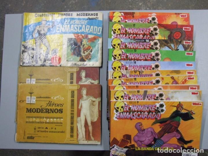 LOTE DE EL HOMBRE ENMASCARADO EJEMPLARES ANTIGUOS Y REEDICIONES (Tebeos y Comics - Magerit - Phantom)